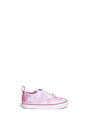 Main View - Click To Enlarge - Vans - 'Tie Dye Authentic' toddler slip-ons