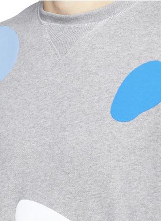 Detail View - Click To Enlarge - Tim Coppens - 'Mushroom Spot' print sweatshirt
