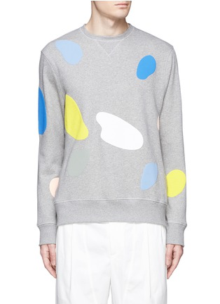 Main View - Click To Enlarge - Tim Coppens - 'Mushroom Spot' print sweatshirt