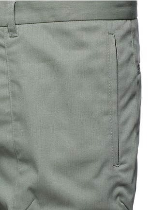Detail View - Click To Enlarge - Tim Coppens - Pocket cotton twill pants