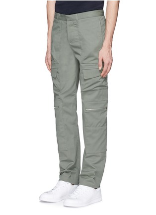 Front View - Click To Enlarge - Tim Coppens - Pocket cotton twill pants