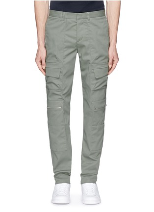 Main View - Click To Enlarge - Tim Coppens - Pocket cotton twill pants