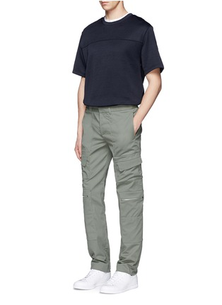 Figure View - Click To Enlarge - Tim Coppens - Pocket cotton twill pants