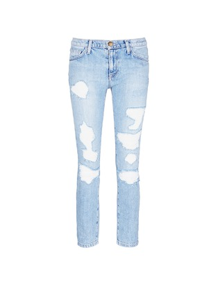 Main View - Click To Enlarge - Current/Elliott - 'The Fling' distressed jeans
