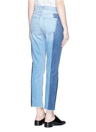 Back View - Click To Enlarge - CURRENT/ELLIOTT - 'The Seamed Vintage Straight' cropped jeans