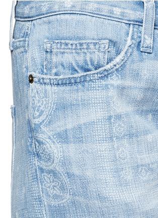 Detail View - Click To Enlarge - Current/Elliott - 'The Boyfriend' bandana print jeans