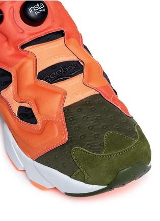 Detail View - Click To Enlarge - Reebok - 'Insta Pump Fury' slip-on sneakers