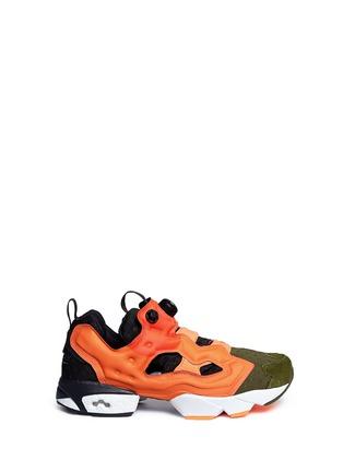 Main View - Click To Enlarge - Reebok - 'Insta Pump Fury' slip-on sneakers