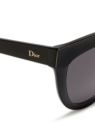 Detail View - Click To Enlarge - Dior - 'Soft 1' matte brow bar acetate cat eye sunglasses