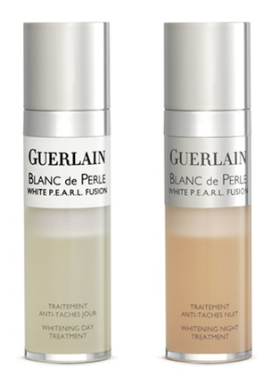 Main View - Click To Enlarge - Guerlain - Blanc de Perle White P.E.A.R.L. Fusion Whitening Day & Night Treatment 15ml