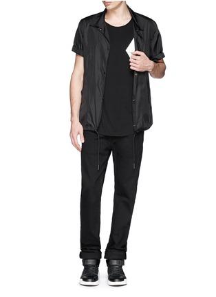 Figure View - Click To Enlarge - SIKI IM / DEN IM - Kimono sleeve cotton-modal T-shirt