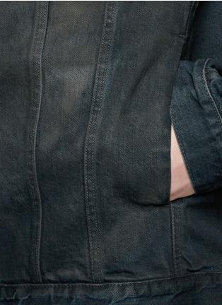 Detail View - Click To Enlarge - SIKI IM / DEN IM - Dye cotton selvedge denim jacket