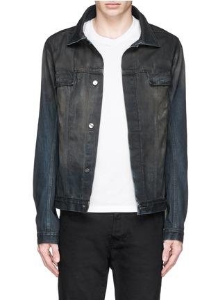 Main View - Click To Enlarge - SIKI IM / DEN IM - Dye cotton selvedge denim jacket