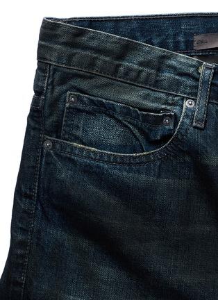 - SIKI IM / DEN IM - 'Peg' gradient wash denim cropped jeans