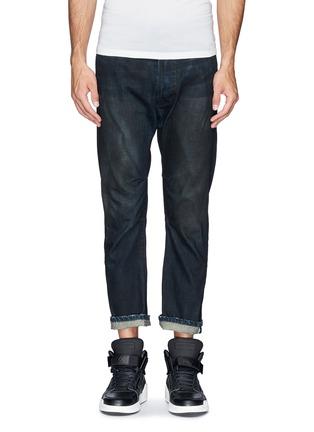 Main View - Click To Enlarge - SIKI IM / DEN IM - 'Peg' gradient wash denim cropped jeans