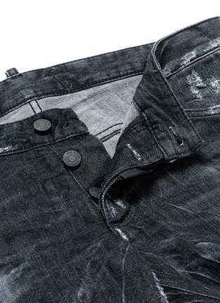 - Dsquared2 - 'Clement' shot wash slim fit jeans