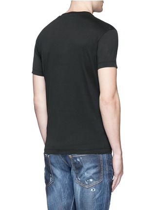Back View - Click To Enlarge - Dsquared2 - Punk print T-shirt