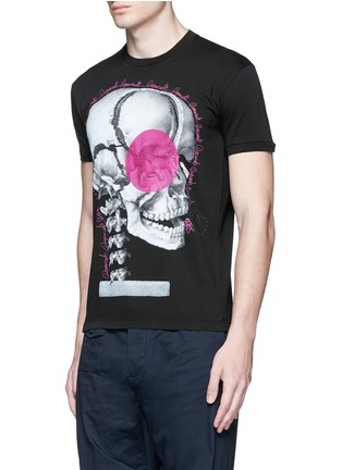 Front View - Click To Enlarge - Dsquared2 - Skull print T-shirt