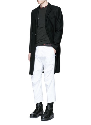 Figure View - Click To Enlarge - Dsquared2 - Multi zip T-shirt