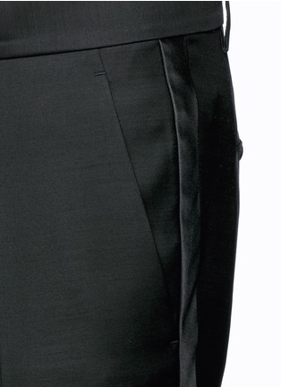 Detail View - Click To Enlarge - Dsquared2 - 'Admiral' wool-silk evening pants