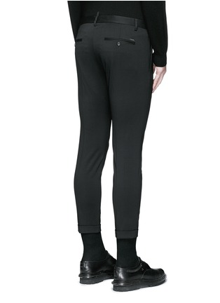 Back View - Click To Enlarge - Dsquared2 - Skinny fit cropped pants