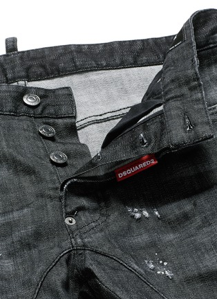 - Dsquared2 - 'Clement' distressed slim fit jeans
