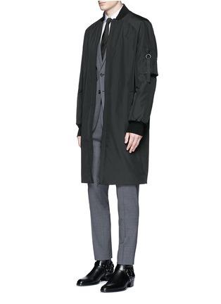 Figure View - Click To Enlarge - Dsquared2 - 'Paris' stretch wool suit