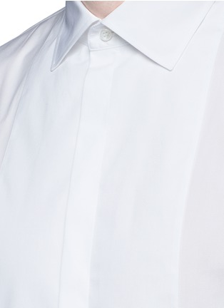 Detail View - Click To Enlarge - Dsquared2 - Slim fit tuxedo shirt