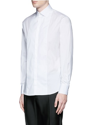 Front View - Click To Enlarge - Dsquared2 - Slim fit tuxedo shirt
