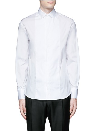 Main View - Click To Enlarge - Dsquared2 - Slim fit tuxedo shirt