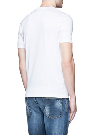 Back View - Click To Enlarge - Dsquared2 - Eye print T-shirt