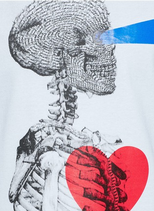 Detail View - Click To Enlarge - Dsquared2 - Skull print T-shirt