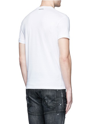 Back View - Click To Enlarge - Dsquared2 - Graphic print T-shirt