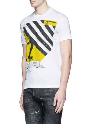 Front View - Click To Enlarge - Dsquared2 - Graphic print T-shirt