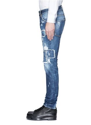 Detail View - Click To Enlarge - 71465 - 'Cool Guy' rip and repair jeans