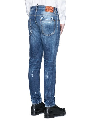 Back View - Click To Enlarge - 71465 - 'Cool Guy' rip and repair jeans