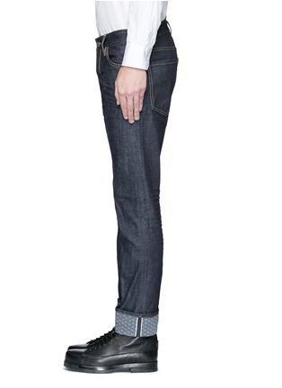 Detail View - Click To Enlarge - 71465 - 'Slim' rolled cuff jeans