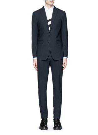 Main View - Click To Enlarge - Dsquared2 - 'Paris' stretch wool suit