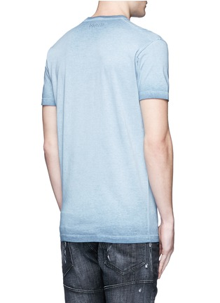 Back View - Click To Enlarge - Dsquared2 - Finger print T-shirt