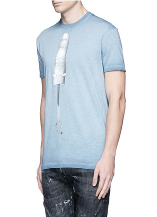 Front View - Click To Enlarge - Dsquared2 - Finger print T-shirt
