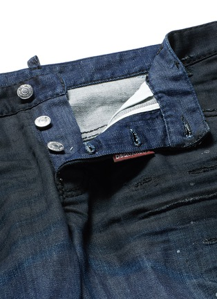 - Dsquared2 - 'Sexy Twist' rip and repair slim fit jeans