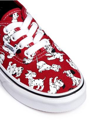 Detail View - Click To Enlarge - Vans - x Disney 'Authentic' 101 Dalmatians print canvas kids sneakers