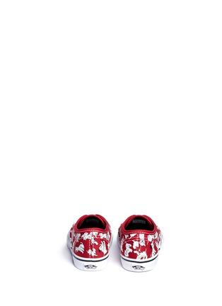 Back View - Click To Enlarge - Vans - x Disney 'Authentic' 101 Dalmatians print canvas toddler sneakers