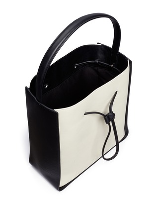Detail View - Click To Enlarge - 3.1 Phillip Lim - 'Soleil' large leather drawstring bucket bag