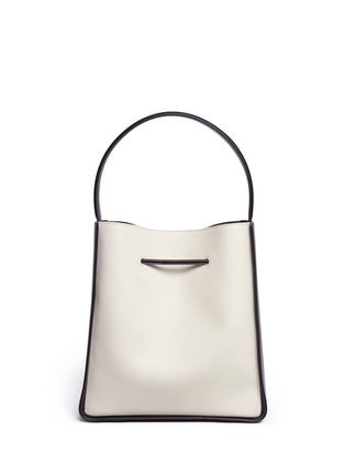 Back View - Click To Enlarge - 3.1 Phillip Lim - 'Soleil' large leather drawstring bucket bag