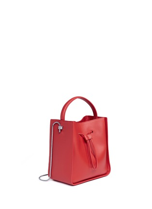 Front View - Click To Enlarge - 3.1 PHILLIP LIM - 'Soleil' small leather drawstring bucket bag