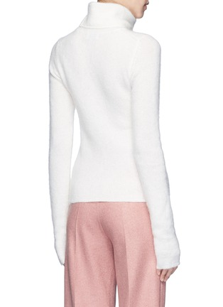 Back View - Click To Enlarge - Acne Studios - 'Dwyn' mohair blend turtleneck sweater