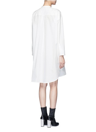 Back View - Click To Enlarge - ACNE STUDIOS - 'Esloane' oversized cotton poplin shirt dress