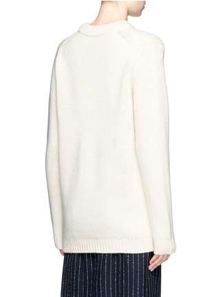 Back View - Click To Enlarge - ACNE STUDIOS - 'Shauni' star intarsia wool sweater