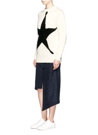 Figure View - Click To Enlarge - ACNE STUDIOS - 'Shauni' star intarsia wool sweater